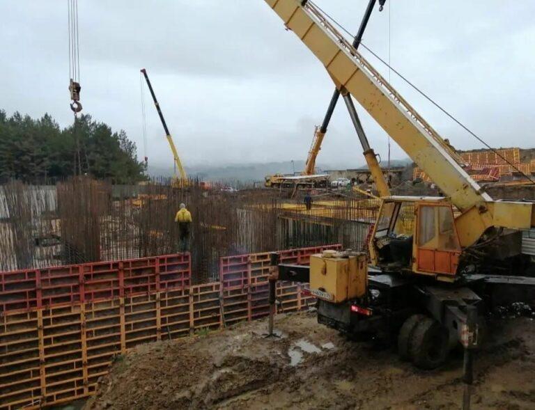 Строительство нового корпуса кисловодской ЦГБ идет быстрыми темпами