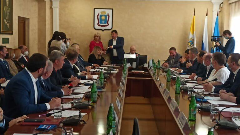 Депутаты думы города-курорта Кисловодска шестого созыва