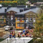 Город в городе. Стройка в пойме Аликоновки.