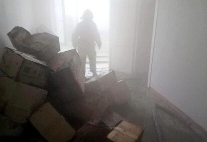 В Александровской городской больнице произошел пожар